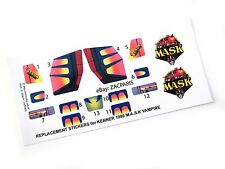 MASK stickers for KENNER M.A.S.K VAMPIRE Stickers Personalized