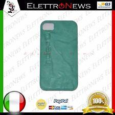 Cover custodia tpu per Iphone 4-4s Verde acqua marina