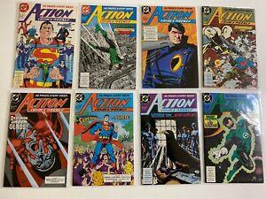 Action Comics Lot 31 Diff #601-642 8.0 VF (1988-1989)