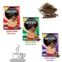 Nescafe Blend & Brew 3 in 1 Nestle instant & fine ground coffee mix Aroma taste