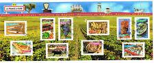 France 2004 Bloc Feuillet 10 timbres stamps souvenir sheet Portraits de Regions
