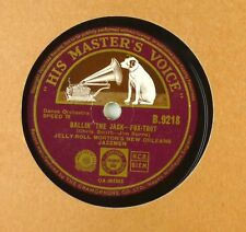 """10"""" schelllack-Jelly Roll Morton-Ballin 'The Jack/leave me here-a71"""
