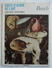 BOSCH Grands Peintres / PRINTS 1967 Hachette France