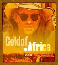 Geldof in Africa Bob Geldof SIGNED 1st Edition Hardback