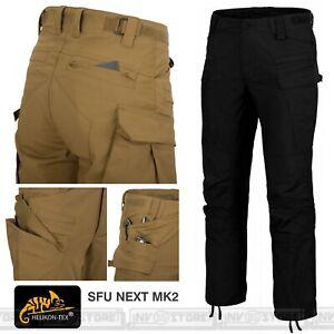 Pantaloni HELIKON-TEX New SFU Next MK2 Pants Tattici Militari Outdoor NERO BLACK
