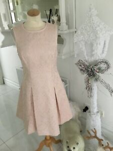 TED BAKER peach dress size 2
