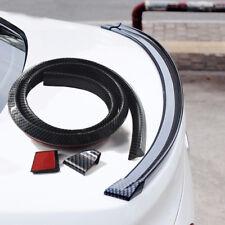 1.5m 4.9' Universal 3D Carbon Fiber Car Rear Roof Trunk Spoiler Wing Lip Sticker