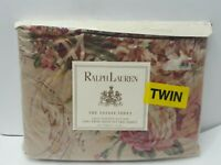 Ralph Lauren Guinevere Twin Deep Fitted Sheet New Estate New Sealed Vintage