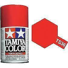 Bombe de peinture Tamiya Rouge fluo Brillant Ts-36