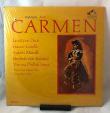 Highlights BIZET CARMEN LP NM Red Seal RCA MONO LM 2843 PRICE Original Shrink!
