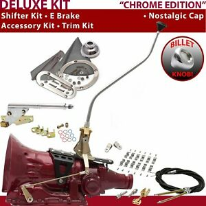 FMX Shifter Kit 23 Swan E Brake Cable Clamp Clevis Trim Kit For F59F8 trans