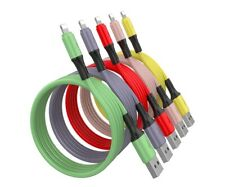 Lightning Cable for Apple iPhone or iPad . 1.8M long. Silicone Gel coated.
