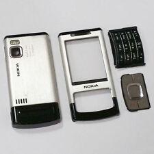 Façades et autocollants noirs pour téléphone mobile et assistant personnel (PDA) Nokia