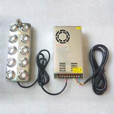 10 Tête à ultrasons Mist Maker étang Fogger Générateur Transformateur 220V