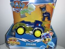 NEW PAW PATROL MIGHTY PUPS SUPER PAWS Chase  DELUXE VEHICLE