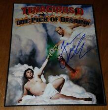 Tenacious D Jack Black  Autographed Press Photo Signed The Pick of Destiny
