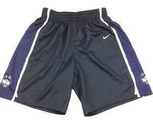 New Nike Connecticut UConn Huskies Elite Basketball Short Women's M Navy $65