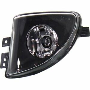 For 528i xDrive 12-13, Driver Side Fog Light, Clear Lens, Plastic Lens