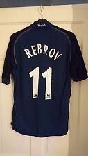 Tottenham Hotspur Spurs Kappa Navy 2002/2003 Rebrov Away 3rd Shirt Jersey - S