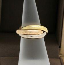Les must de Cartier Trinity Tricolour 18KT Gold mit neutraler Box in Gr. 54