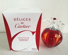 Cartier Delices de Cartier EDT 1.6 oz. 50 ml - NIB - Discontinued Rare