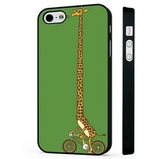 Giraffe Long Neck Funny Animal BLACK PHONE CASE COVER fits iPHONE