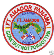 US ARMY POST PATCH, FORT AMADOR PANAMA, GONE BUT NOT FORGOTTEN               Y