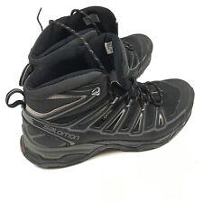 *Recent* Salomon Black Goretex Contagrip X-Ultra Hiking Boots Men's 9.5
