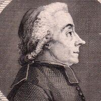 Portrait XVIIIe Jean Ducret De Langes Curé Etats Généraux 1789 Bailliage Mâcon