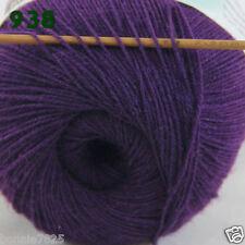 Dark Purple wool//acrylic blend Yarn  #58001 ON SALE NOW!
