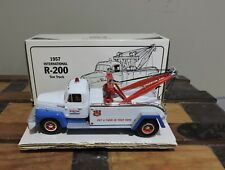FIRST GEAR 1957 INTERNATIONAL R-200 EXON TOW TRUCK - MINT IN OPENED BOX