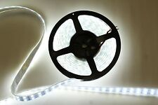 5M 16.4ft 12V SMD White 5050 IP67 Waterproof 600 LED Double Row Tube Strip Light