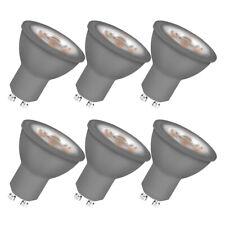 OSRAM Leuchtmittel LED Warmweiß Reflektor Glas 3 W Gu10 grau Energieklasse A