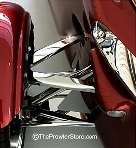 Plymouth Prowler Trim High Polished Stainless Steel A-Arm Covers ACC-822025