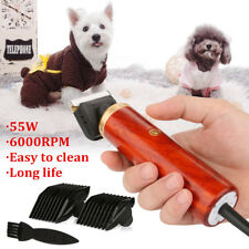 55W Professional Electric Pet Clipper Dog Cat Horse Hair Trimmer Comb  U1