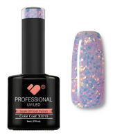 3D-010 VB Line Multicolour under Glass Glitter - UV/LED nail gel polish- quality