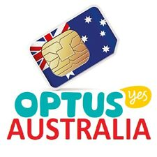 OPTUS AUSTRALIA SIM CARD best rates for travelers! (delivery from EU)