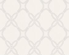 Tapete weiß muster  schöner Wohnen 268310 Mustertapete weiß / grau | eBay
