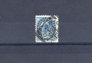 Canada ONT Ontario - Picton 1899 Squared Circle - SON Cancel - 5c Numeral Stamp