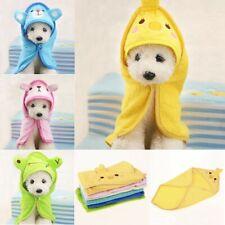 Soft Cartoon Pet Dog Bathrobes Animal Bath Towel Puppy Cat Puppy Pajamas Blanket