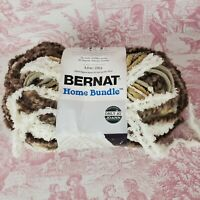 Bernat Home Bundle Yarn 5.3 oz. Skein Cream Taupe Super Bulky 6 (Partial Skein)