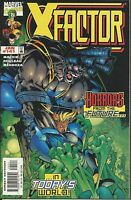 X-Factor Comic Issue 141 Cover A First Print 1998 Mackie Mendoza Rouleau