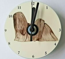 Lhasa Apso CD Clock by Curiosity Crafts