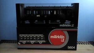Märklin 5804 Spur 1 Personenwagen 2. Klasse Originalverpackung