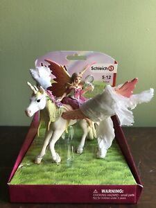 Schleich Pegasus And Elf
