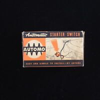Vintage Automo Automatic Engine Starter Switch Ford Chevy