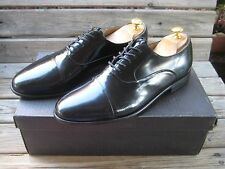 Giorgio Brutini Black Cap Toe Dress Oxfords shoes Mens Polished leather 10 D med