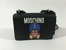 $775 MSRP AW17 Moschino Couture Jeremy Scott Transformers Shoulder Bag w/Chains