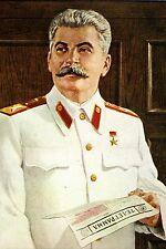 WW2 - Portrait de Joseph Staline, Président de l'URSS