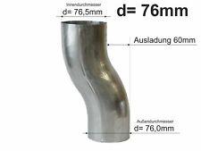 Rohrwinkel Ablaufrohrwinkel Fallrohr zink 87 mm